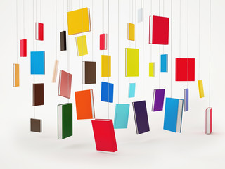 Concept of Hanging Books, Background