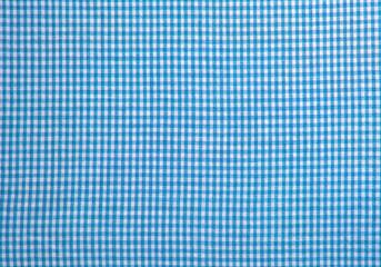 Blau weiß karierter Hintergrund als Textur