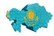 Kazakh Map