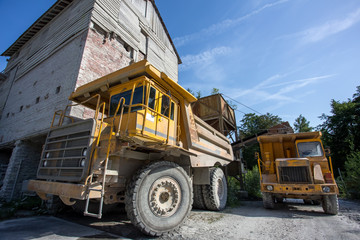 a large wheel loaders