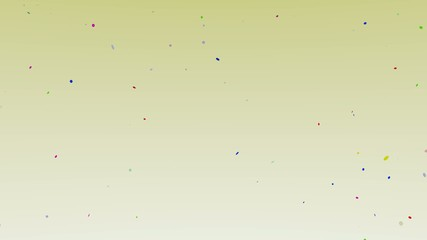 celebration background - flying confetti