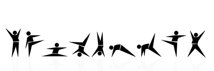 gymnastic set
