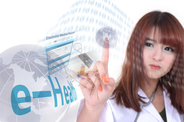 Health information by e-health system.