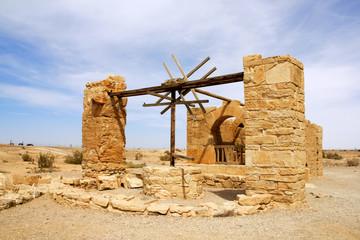 desert castle (Quseir Amra) Jordan.