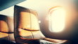 luxury airplane interior - 66207824