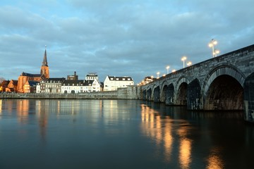 The Netherlands Maastricht St. Servatius Bridge