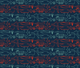 seamless military pattern 14