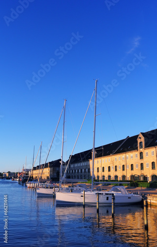 Yachts in Copenhagen