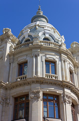 Detail of Valencia Post Office Palace