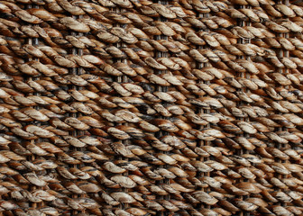 wicker texture background, traditional handicraft weave Water Hy