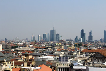 Milan Landscape, Lombardy, Italy