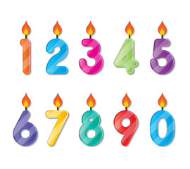 number candle