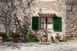 Obrazy na płótnie, fototapety, zdjęcia, fotoobrazy drukowane : Mallorca Dorfplatz von Orient