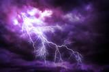 Fototapety Lightning strike