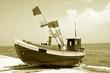 Łódź kuter rybak ryba - 66216287