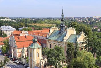 Church of St Archangel Michael in Sandomierz, Poland