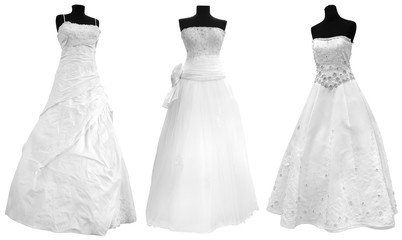 Three Wedding Dress