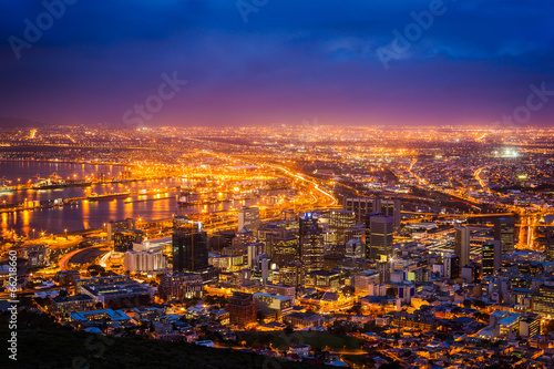 Foto op Canvas Zuid Afrika View of Cape Town