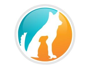 pet,veterinary logo,animal icon,dog symbol