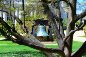 Bell at Concord New Hampshire State Capitol
