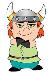 chłopiec wiking