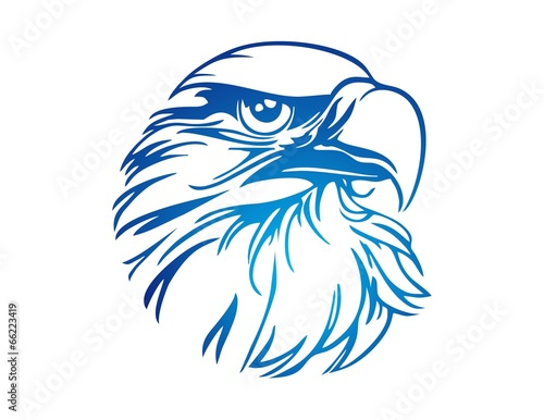 hawk logo eagle icon bird symbol - 66223419