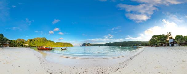 bucht auf phi-phi island thailand