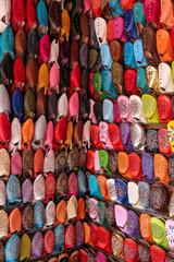 étal de babouches (marrakech) 2