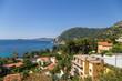 Eze, France. Seascape French Riviera
