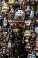 étal de lampes décoratives berbères (marrakech) 2