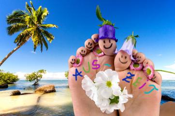 Auszeit: den Urlaub genießen :)