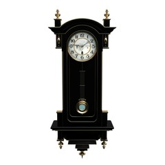Claddic clock black