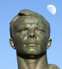 Monument to Yuri Gagarin in the Alley of Cosmonauts, Moscow