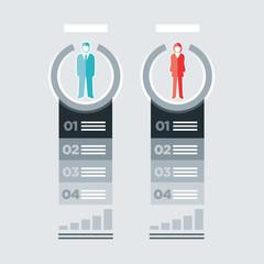 Busines People Infographics