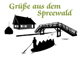 Grüße aus dem Spreewald ~ Version 1
