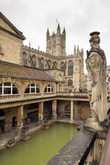 Roman Bath in England