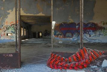 Palazzo abbandonato interni