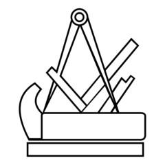 Schreiner ~ Symbol ~ Zeichen ~ Emblem V1