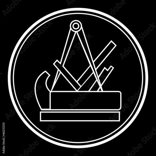 Schreiner Zeichen fototapete schreiner symbol zeichen emblem v2