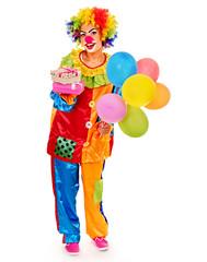 Portrait of clown.