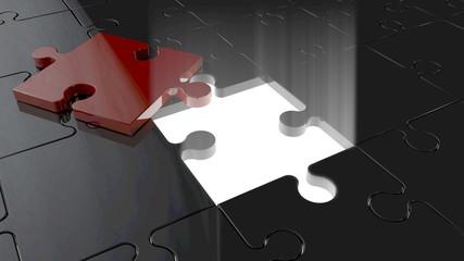 excavated puzzle