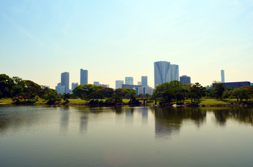 Jardin Hama-Rikyū Lake View