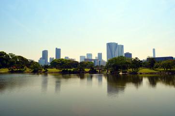 Jardin Hama-Rikyū Lake View