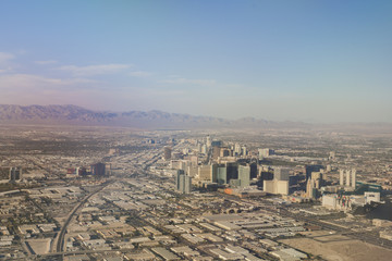 Suburbans of Las Vegas. Aerial View