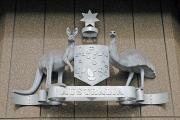 Australian Coat of Arms, Sydney, Australia