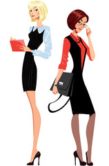 office worker women