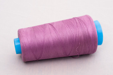 cotton reel, rose red
