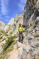 alpine Bergtour am Watzmann