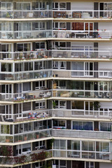Apartment block in Paris