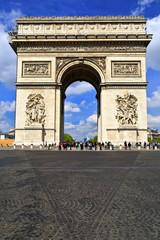 Arc de Triomphe in Paris. France.